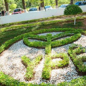 Paisagismo do Cemitério Parque Jardim do Ypê.