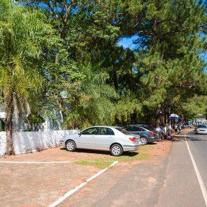 Área externa do Cemitério Parque Jardim do Ypê